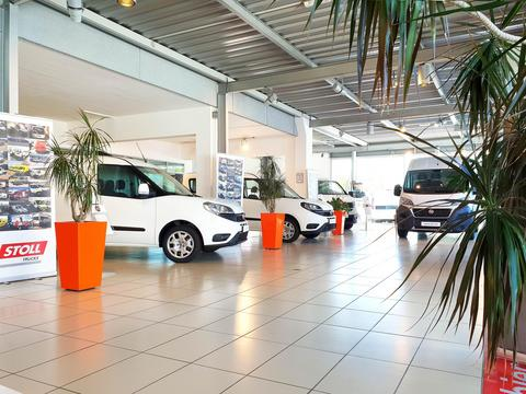 Showroom Fiat Professional - Stoll Trucks à Leudelange