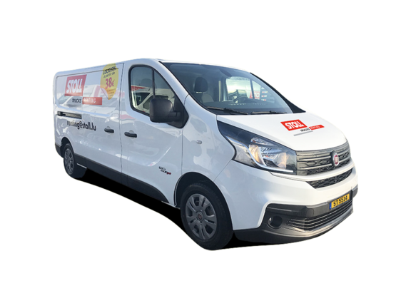 Fourgon 6m³ FIAT SCUDO LONG avant droit