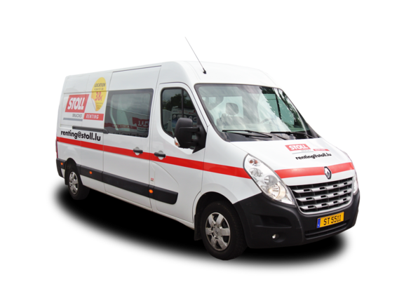 Fourgon 9 places RENAULT MASTER FOURGON DOUBLE CAB avant droit
