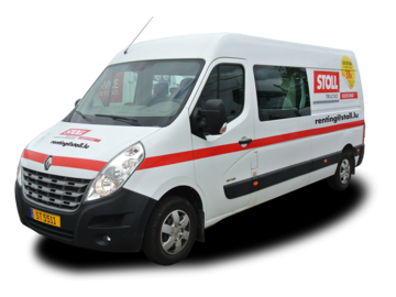Fourgon 7 places RENAULT MASTER FOURGON DOUBLE CAB avant gauche